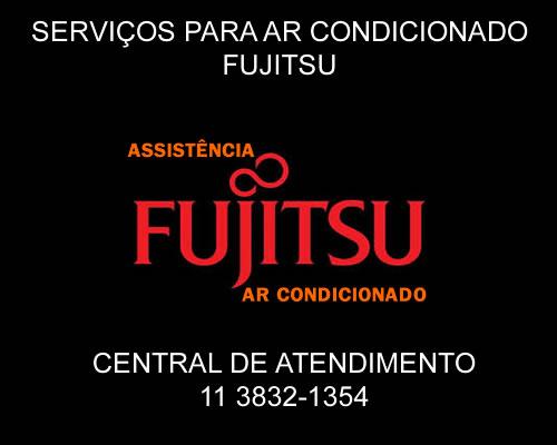 Serviços ar-condicionado Fujitsu em São Paulo