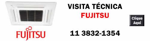 Visita técnica higienização ar condicionado Fujitsu