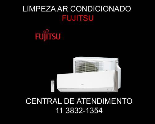 Limpeza ar condicionado Fujitsu