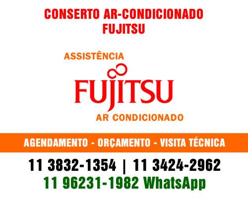 Conserto ar-condicionado Fujitsu