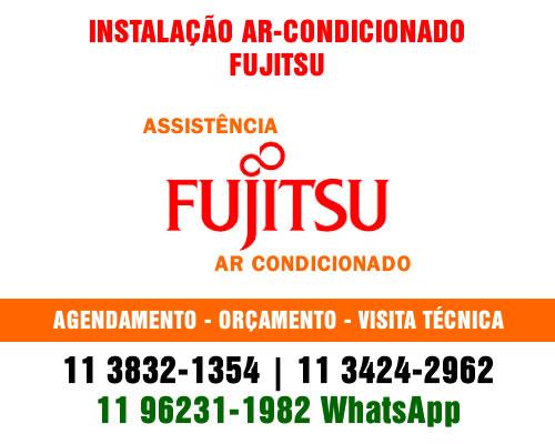 Instalação ar-condicionado Fujitsu