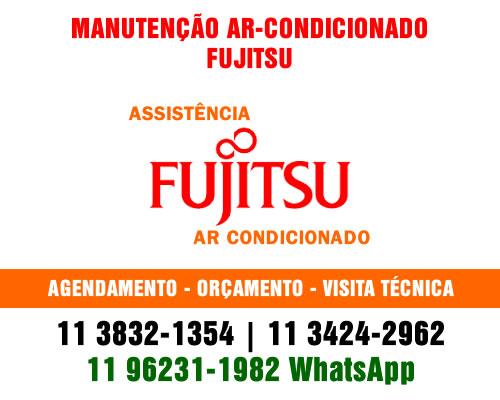 Manutenção ar-condicionado Fujitsu