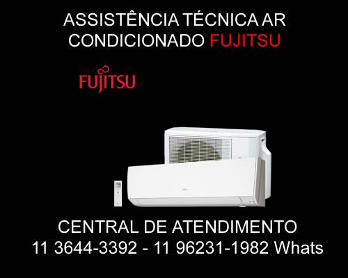 Assistência técnica ar-condicionado Fujitsu