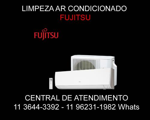 Limpeza ar-condicionado Fujitsu