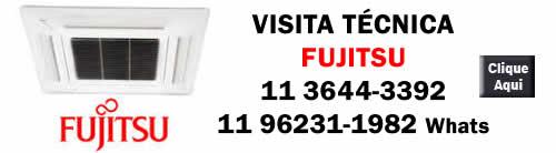 Visita conserto ar-condicionado Fujitsu